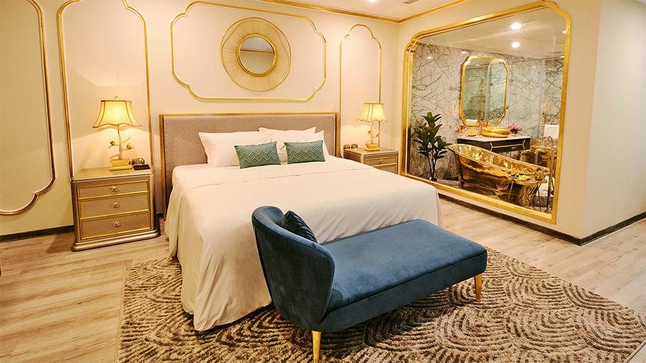 Một căn phòng trong khách sạn Dolce by Wyndham Hanoi Golden Lake có giá 250 cho một đêm - Ảnh: Dolce Hanoi Golden Lake.
