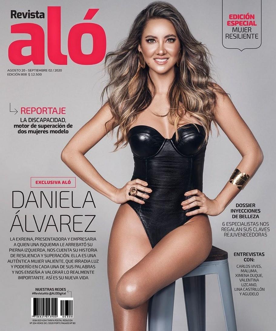 Daniella Álvarez lần đầu xuất hiện trước truyền thông sau biến cố
